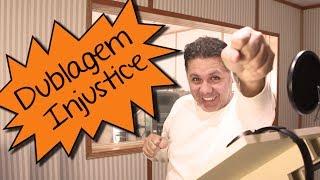 A dublagem de INJUSTICE 2