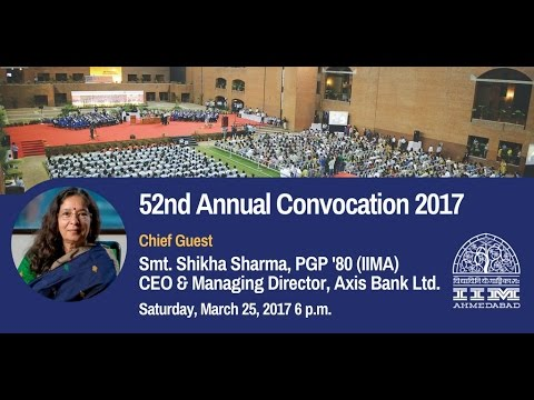 Director's Address,  IIMA's 52nd Convocation, March 2017