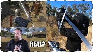 If Sword Fighting Looked Like Mount and Blade
