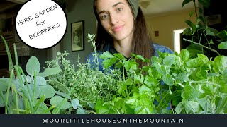 HERB GARDENS BEGINNERS GUIDE || HOW TO || GARDEN BASICS