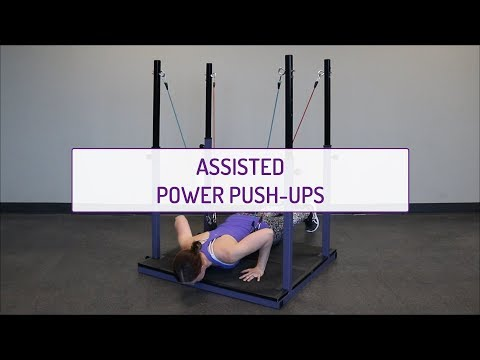 Assisted Power Push-Ups