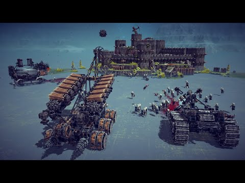 Medieval Death and Siege Machines Destroy Castles and Kill Peasants   Besiege