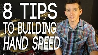 8 Tips For Building Hand Speed   Drum Lessons