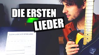 EINFACHE LIEDER FÜR E-GITARRE LERNEN: 3 Songs für Anfänger