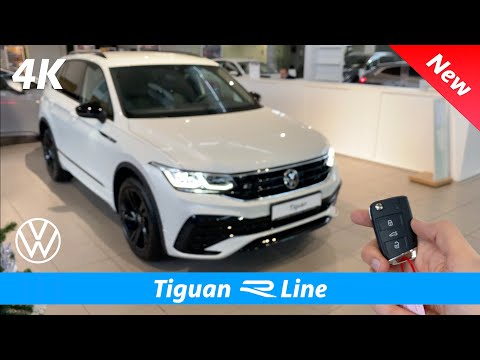 Volkswagen Tiguan R Line 2021 - First FULL In-depth review in 4K | Exterior - Interior