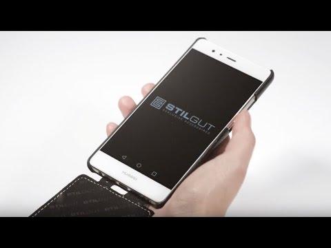 Huawei P9 Hülle UltraSlim aus Leder von StilGut