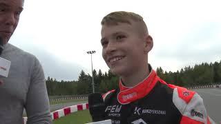 Sieger-Interview mit Enrico Förderer (Rok Junior)