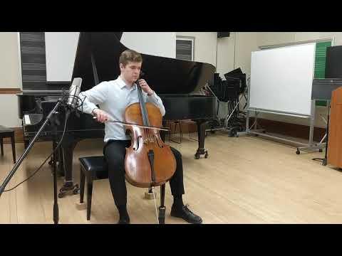 Bach: Suite No. 6 for Cello in D Major- Prelude