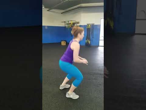 Kneeling Squat Jump