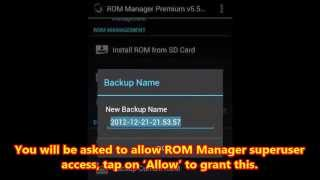 How To Install Custom ROM On Android Phone Using ROM Manager