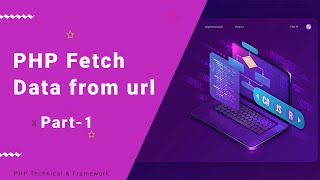 php fetch data from url
