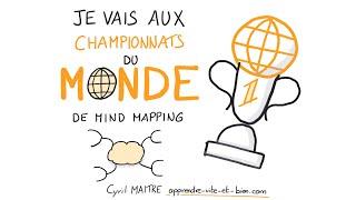 Championnats du monde de MIND MAPPING !!!
