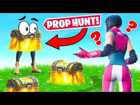 Guess the RANDOM Loot PROP CHEST Game Mode in Fortnite Battle Royale
