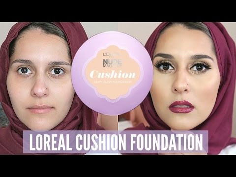 CUSHION FOUNDATION | FIRST IMPRESSIONS ON THE LOREAL NUDE MAGIQUE!