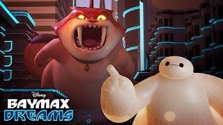 Baymax Dreams Of Mochizilla | Baymax Dreams | Big Hero 6 The Series | Disney XD