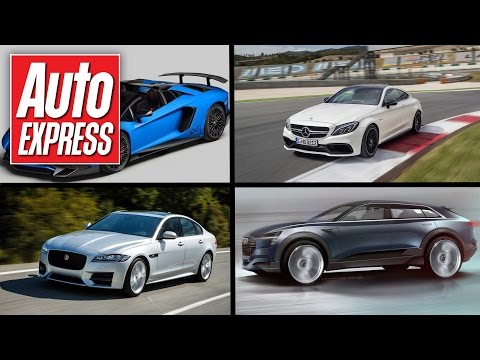 Lamborghini Aventador SV Roadster, Bugatti Chiron & Jaguar XF - Car news in 90 seconds