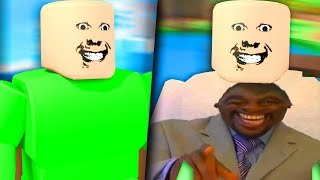 ROBLOX BUT IT'S REALLY AWKWARD...