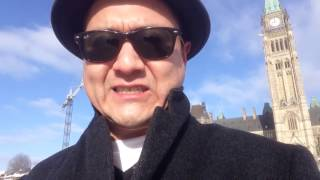 """Diamonds, Wait"" - Spoken Word by Ostwelve on Parliament Hill."