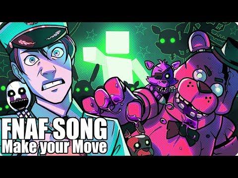 ANTI-NIGHTCORE | FNAF ULTIMATE CUSTOM NIGHT SONG (Make Your Move) LYRIC VIDEO - Dawko and CG5 (видео)