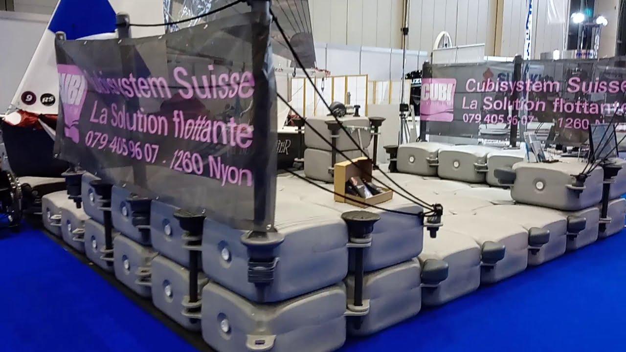 Stand au Salon nautique du Léman 2019