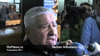 Serban Mihailescu la ICCJ