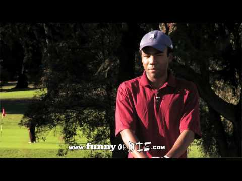 Donald Glover is Tiger Woods