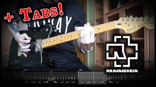 [How To Play] Rammstein   Radio (Guitar Tutorial WTabs)