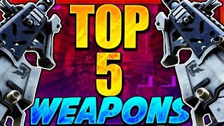 TOP 5 BEST GUNS In Call Of Duty HISTORY