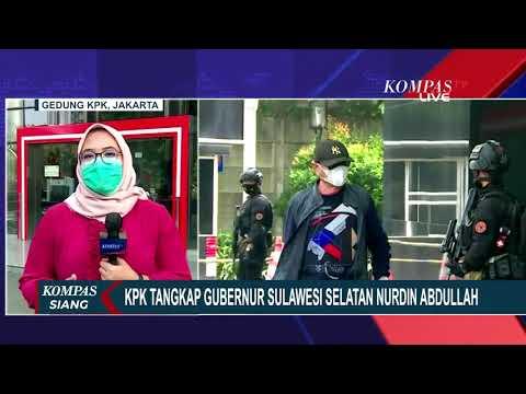 Kena OTT, Gubernur Sulawesi Selatan Masih Diperiksa di Gedung KPK