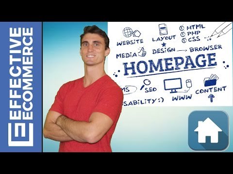 How to Design The Homepage of Your Website
