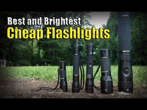Best and Brightest Cheap Flashlights / Luxpro Budget Light