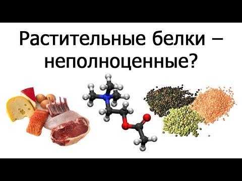 Растительные белки и незаменимые аминокислоты (Нил Барнард)