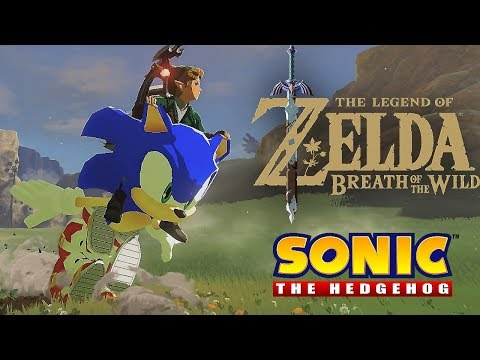 Zelda: Breath of the Wild – Sonic gives Link a ride