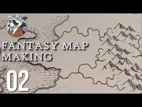 Mostly Mountains| Fantasy Map Making | Ep.2