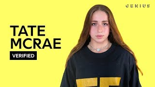 """Tate McRae """"all my friends are fake"""" Official Lyrics & Meaning 