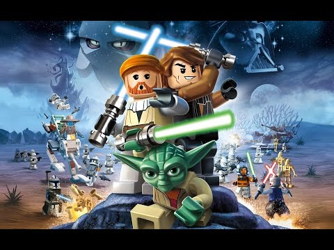 LEGO Star Wars Pelicula Completa Español 1080p Episodios 1, 2, 3 - Game Movie Episodes 1, 2, 3