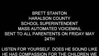 haralson county school superintendent brett stanton