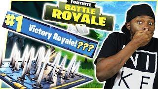 TRAP KILL WIN ATTEMPT! - FortNite Battle Royale Ep.98