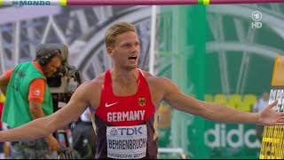 Pascal Behrenbruch- High Jump Moscow 2013