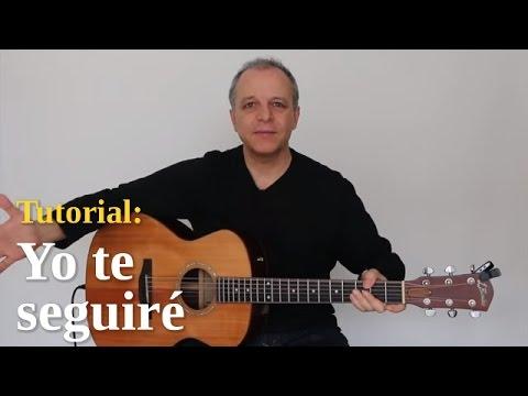 """Alberto Plaza - """"Yo te seguiré"""" en guitarra"""