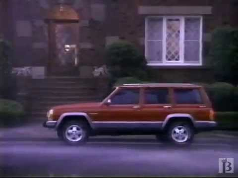 Screenshot of 1992 Jeep Cherokee Commercial