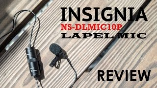 Insignia NS-DLMIC10P Lapel Mic Review