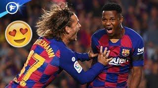 Ansu Fati ébahit tout le monde au Barça   Revue de presse