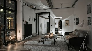 Industrial Style • Sweden Apartment Tour