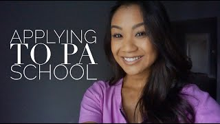 Applying to PA school |Requirements|Personal Statement|Tips