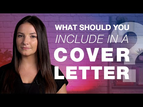 Career Hacks: What to include in a cover letter