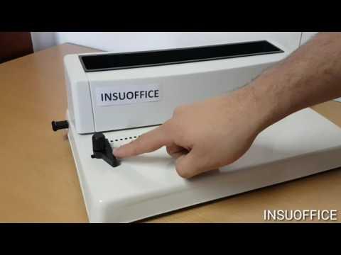 Espiraladora encuadernadora para libreria oficina homeoffice