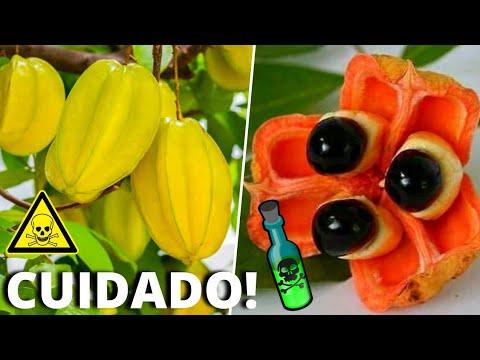 10 frutas mais perigosas
