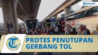 Begini Kata Polisi soal Video Viral Pekerja Protes Penyekatan Jalur Mudik di Gerbang Tol Cikarang