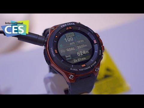 Casio WSD-F20: Smarte Uhr mit GPS und Offline-Karten